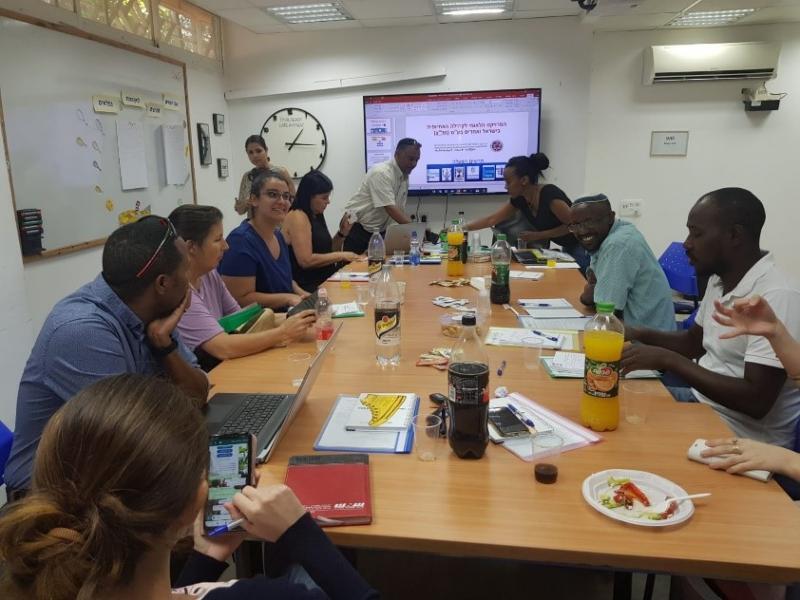 יום היערכות לרכזי תכנית ספייס במחוז חיפה והעמקים